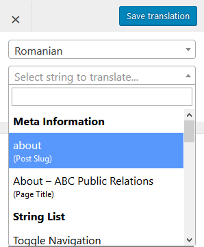 multilingual seo translate slug