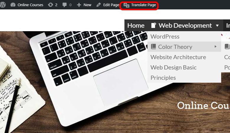 Translate-WordPress-menu-TranslatePress