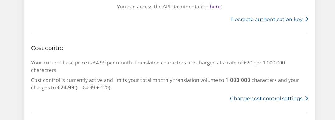 DeepL Automatic Translation - TranslatePress