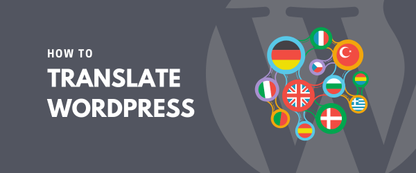 How to Translate WordPress banner