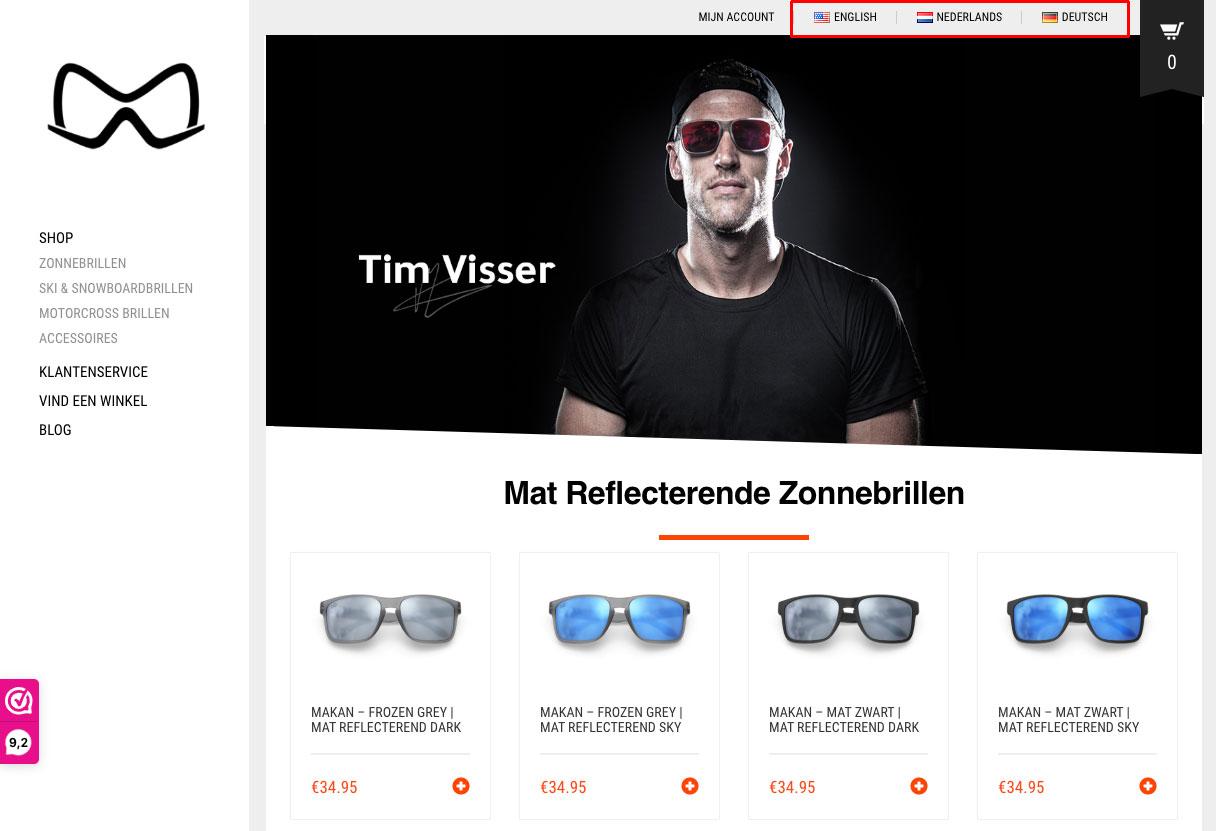 Mariener website