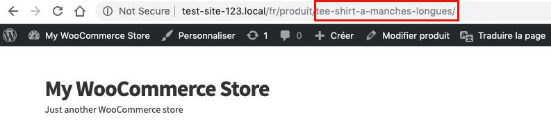Translated URL slug using TranslatePress