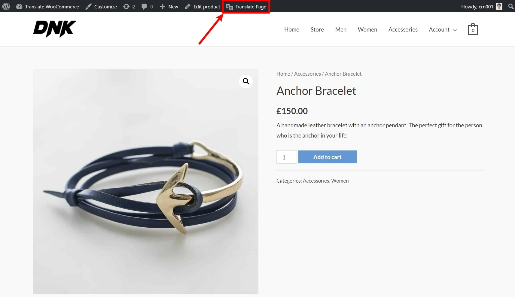 How to access WooCommerce translation editor