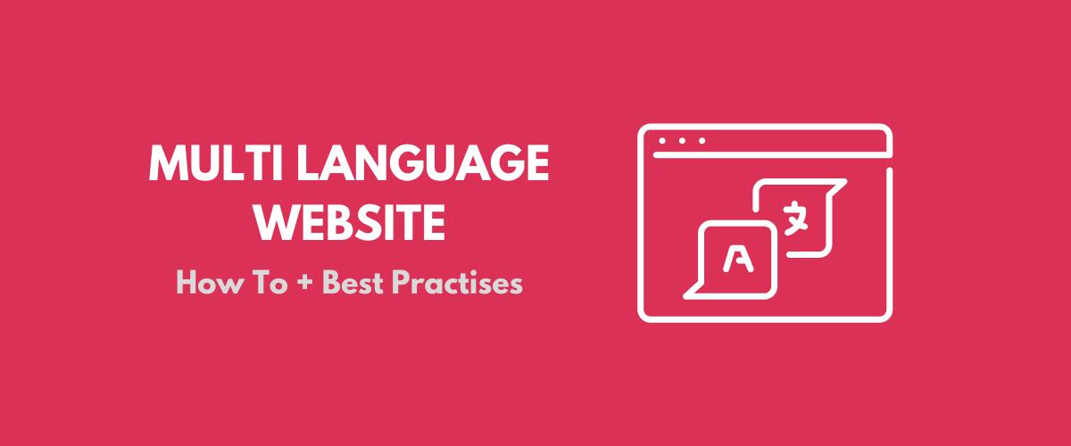 Multi Language Website Tutorial