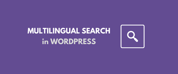 Multilingual WordPress Search tutorial