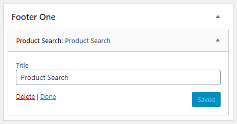 Multilingual WooCommerce product search widget