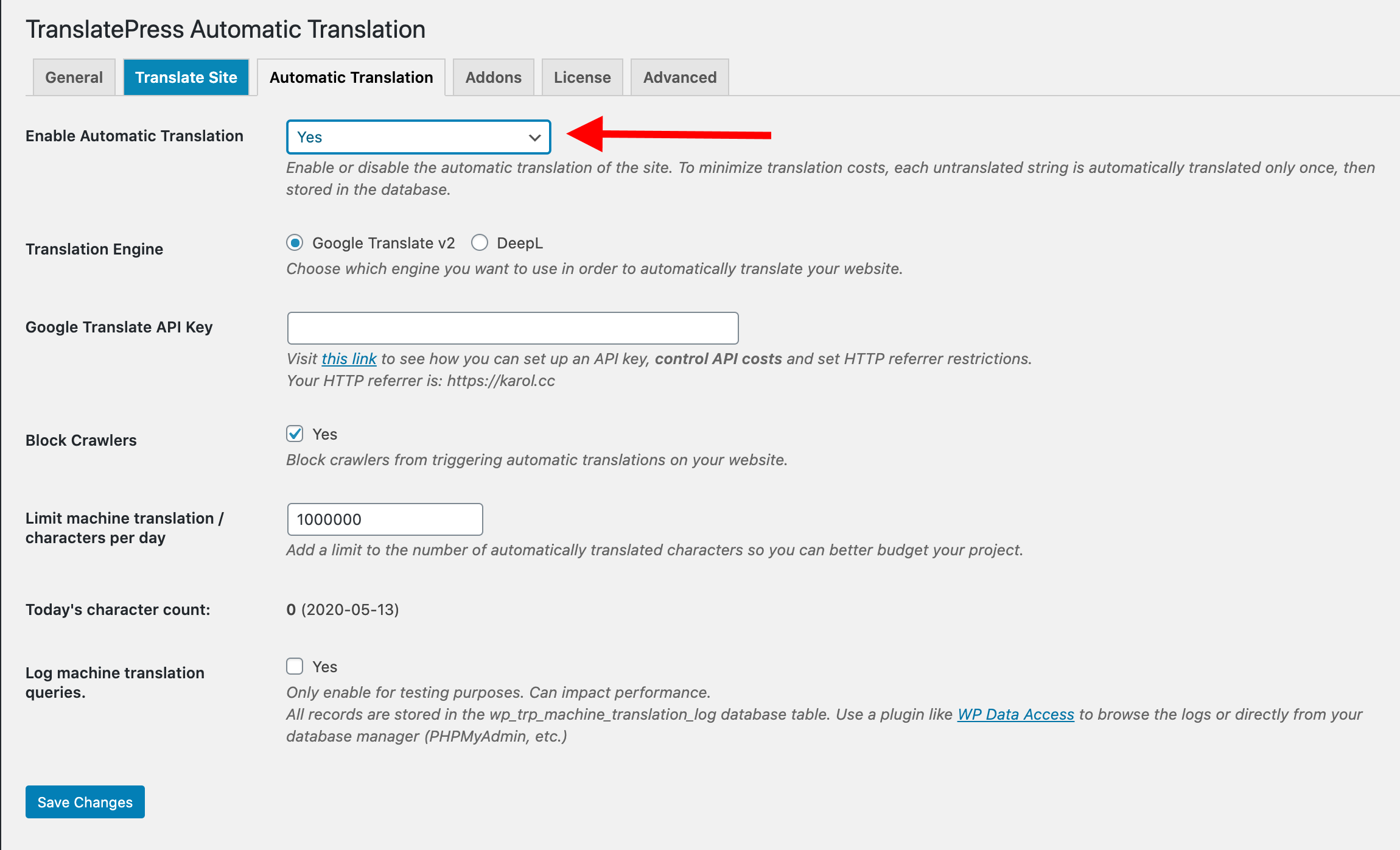 best way to translate a website: auto translations