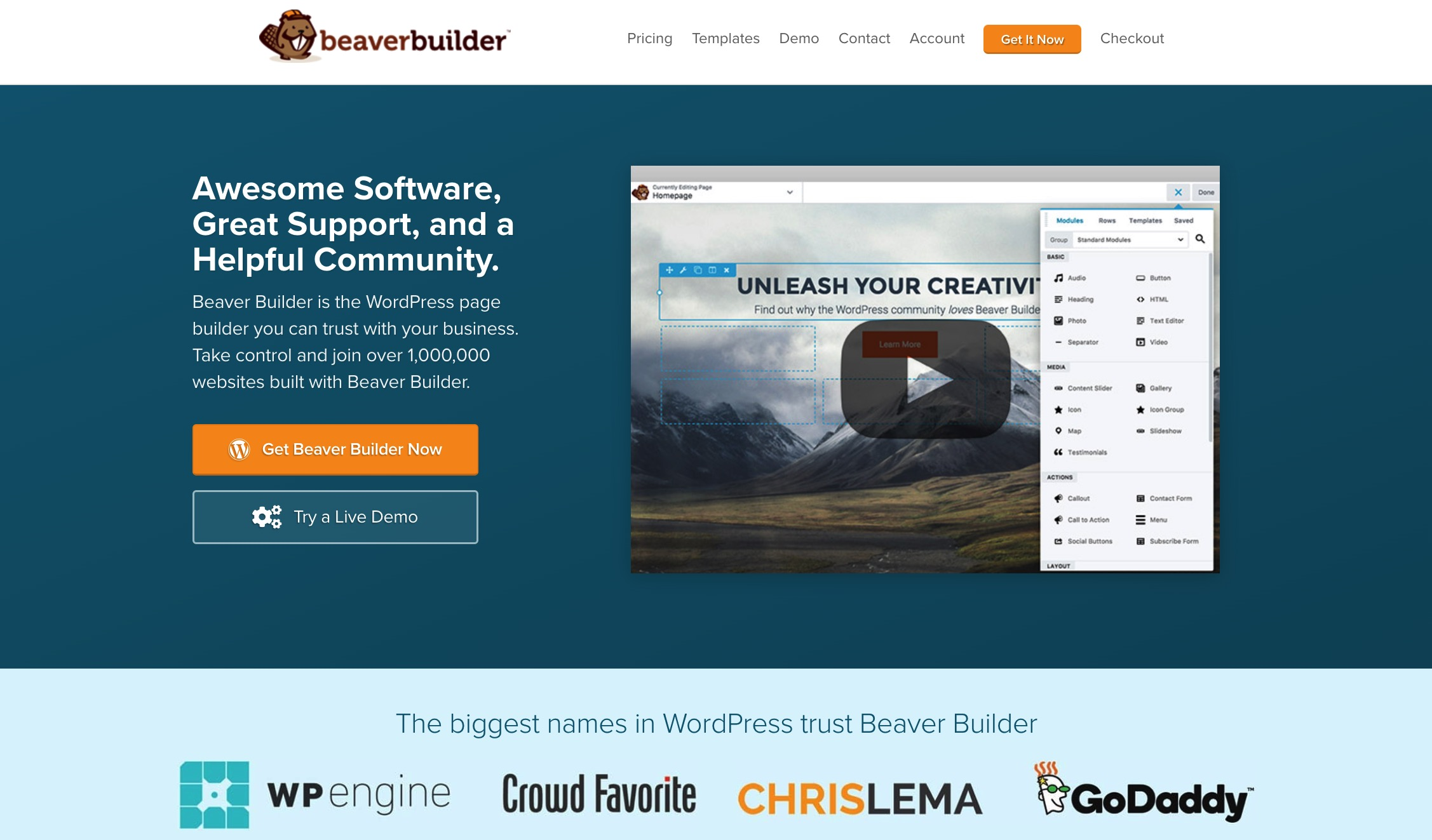 Beaver Builder - among the best WordPress page builders for multilingual sites