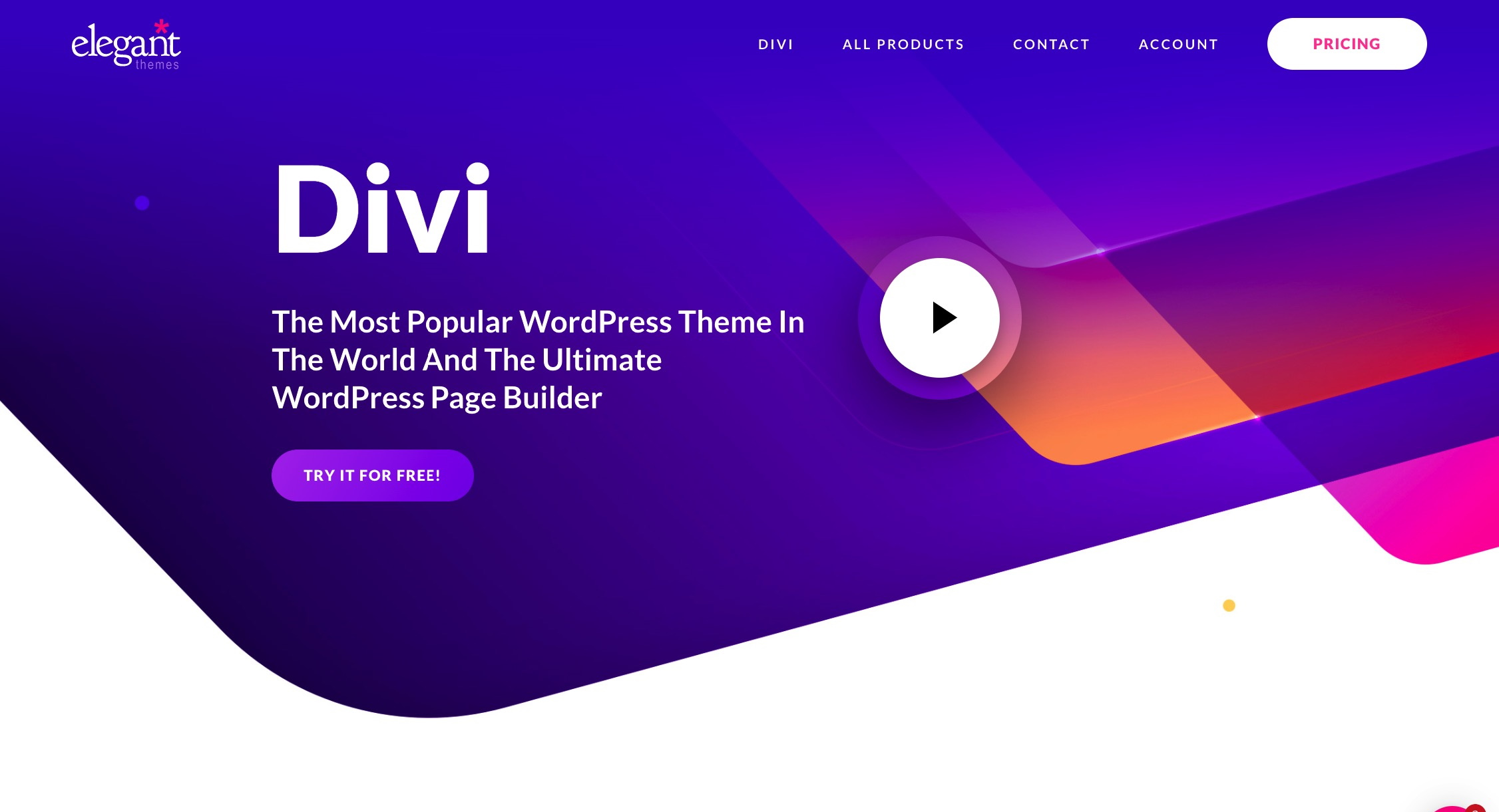 Divi Builder - final entry among the best WordPress page builders for multilingual sites