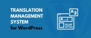 Translation Management System for WordPress
