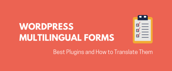 WordPress Multilingual Forms