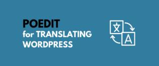 Poedit for WordPress translation