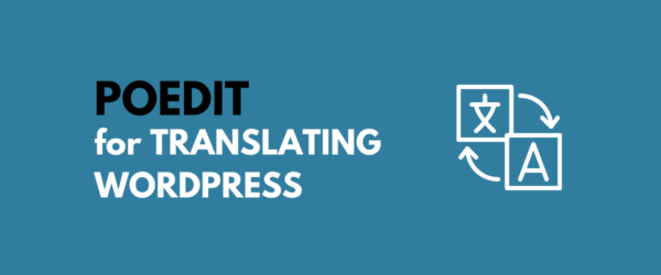 Poedit for WordPress translation