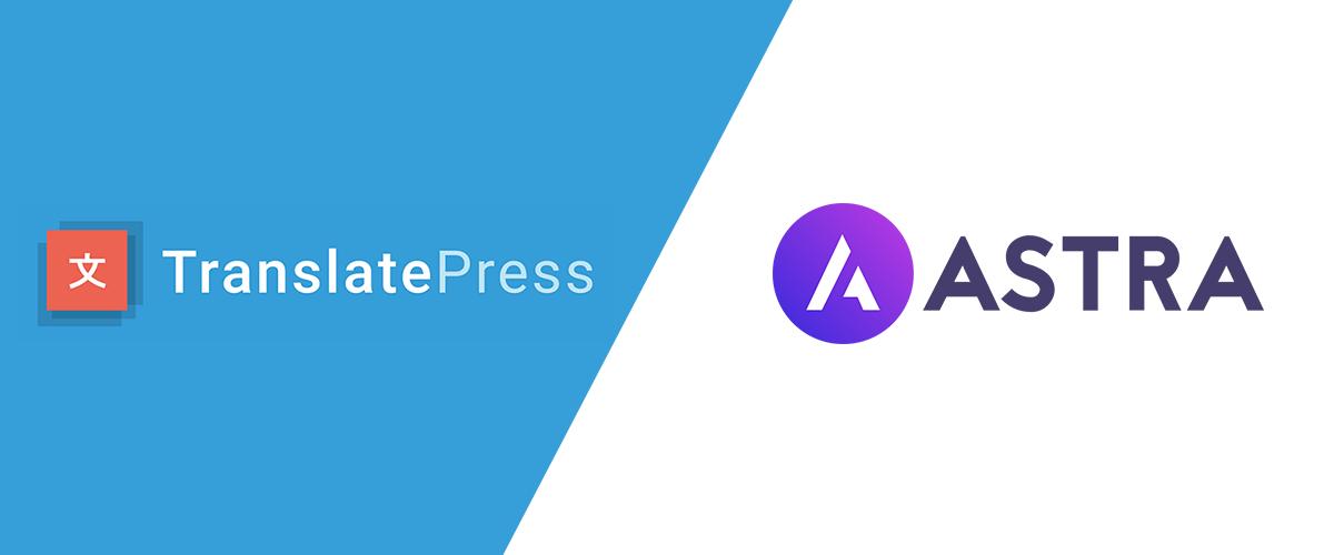 Translate Astra Theme using TranslatePress