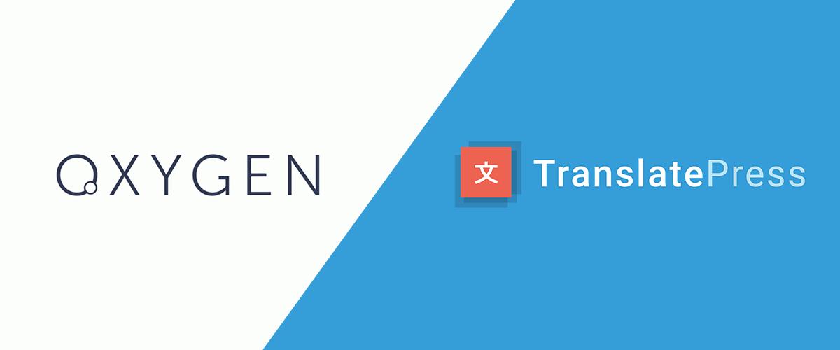 Translate Oxygen WordPress Site