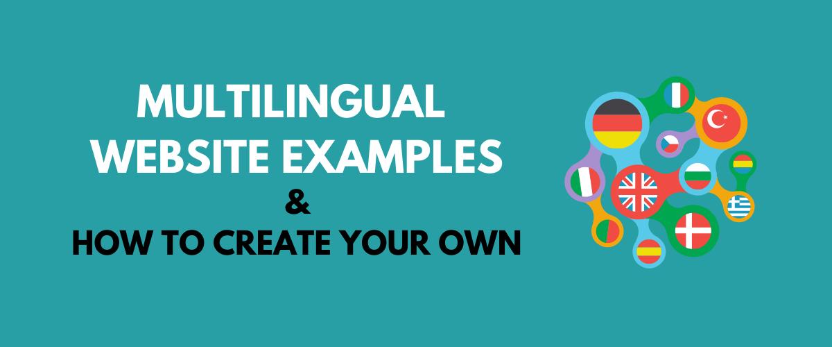 Multilingual Website Examples